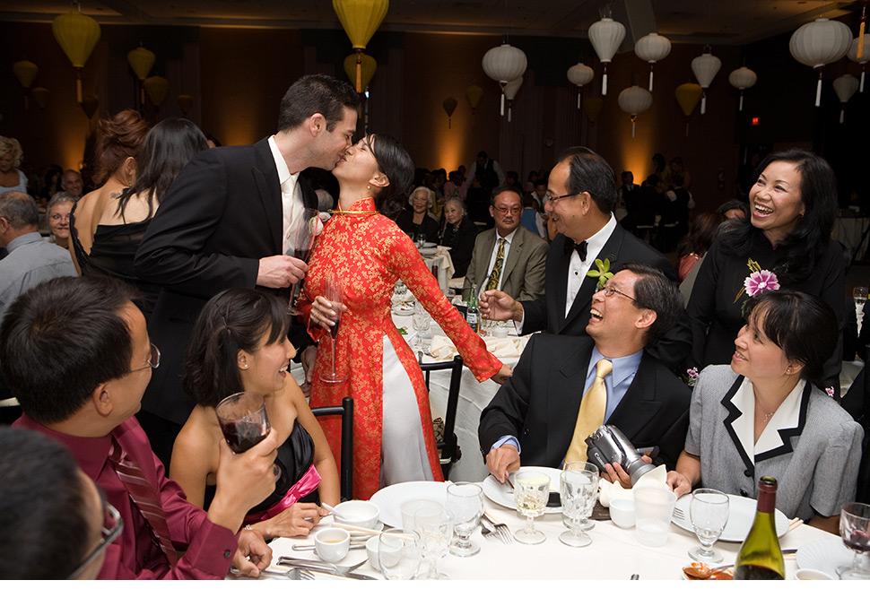 Montreal asian wedding.