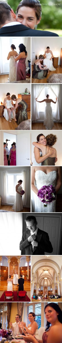 Awesome young couple getting married.