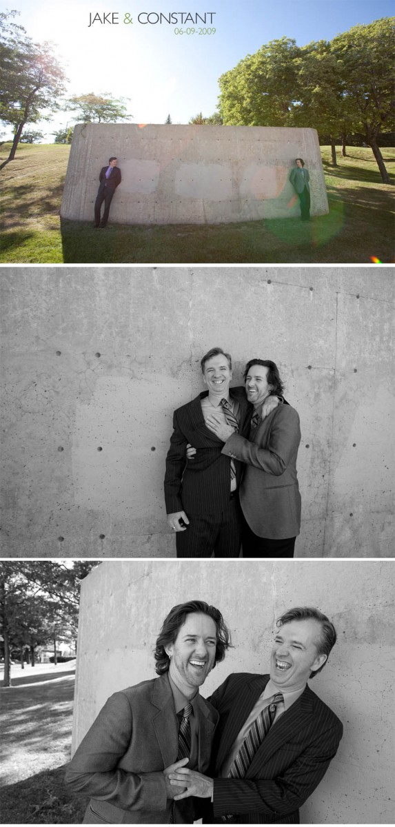 Gay wedding photography in Montreal