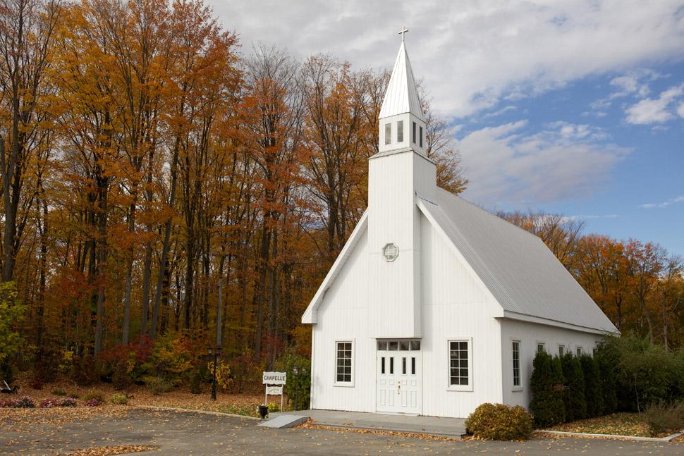 Chapelle du chalet des érables à Sainte-Anne-des-Plaines