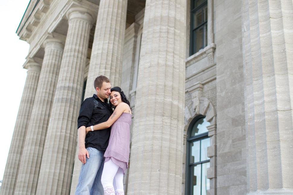 Couple dans le Vieux-Port de Québec
