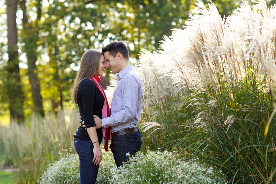 Awesome engagement session done with available light.