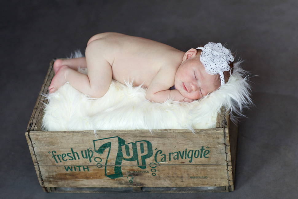 custom newborn photography