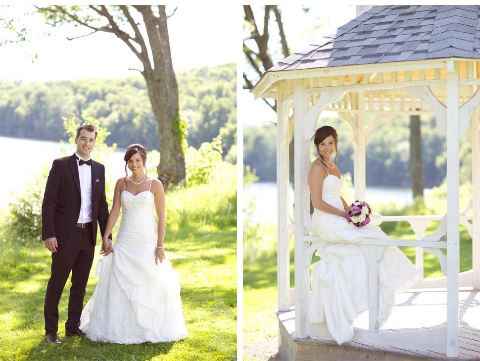Beau mariage champêtre.