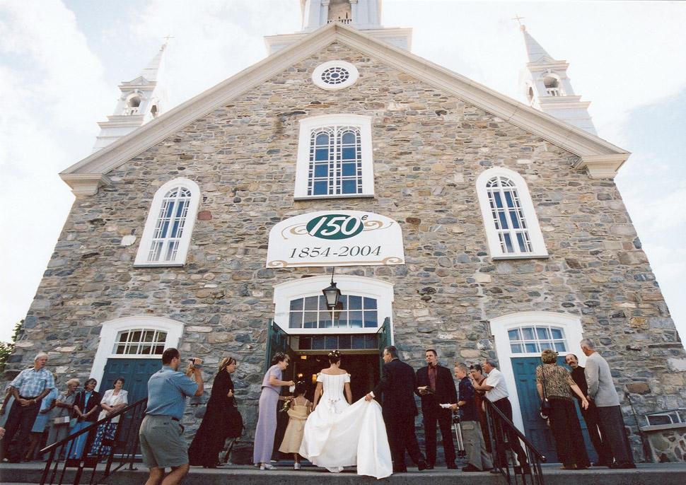 Photographie de mariage en Beauce