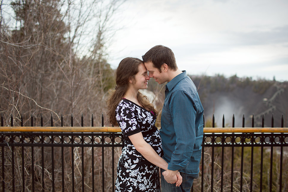 Maternity session in Quebec City.