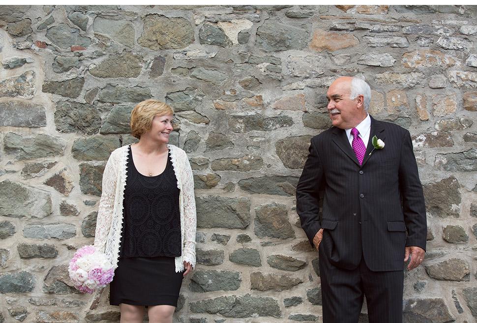 Destination wedding in Old Quebec.