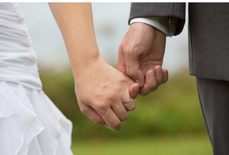 Lakeside wedding in Canada.