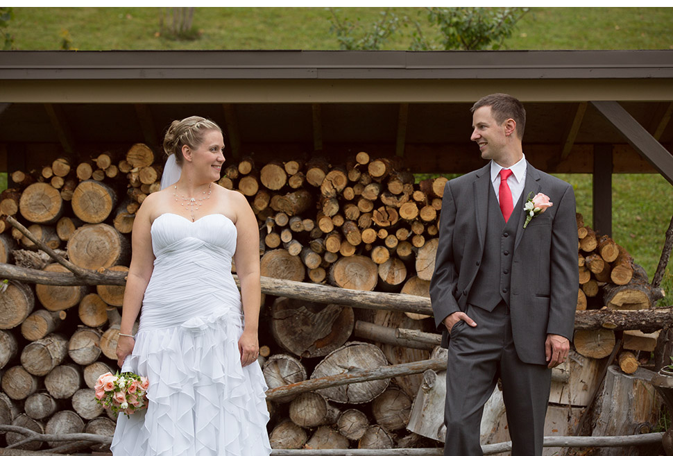 Barn style wedding.