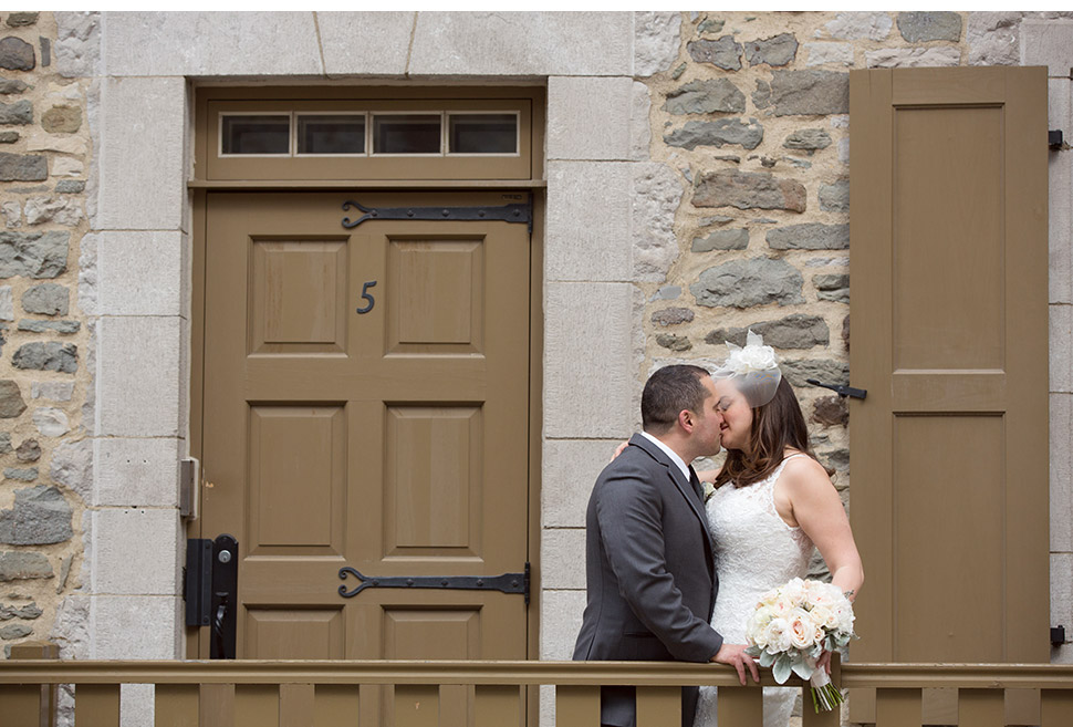 Destination wedding in Old Quebec.