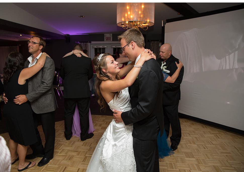 Première danse des mariés.