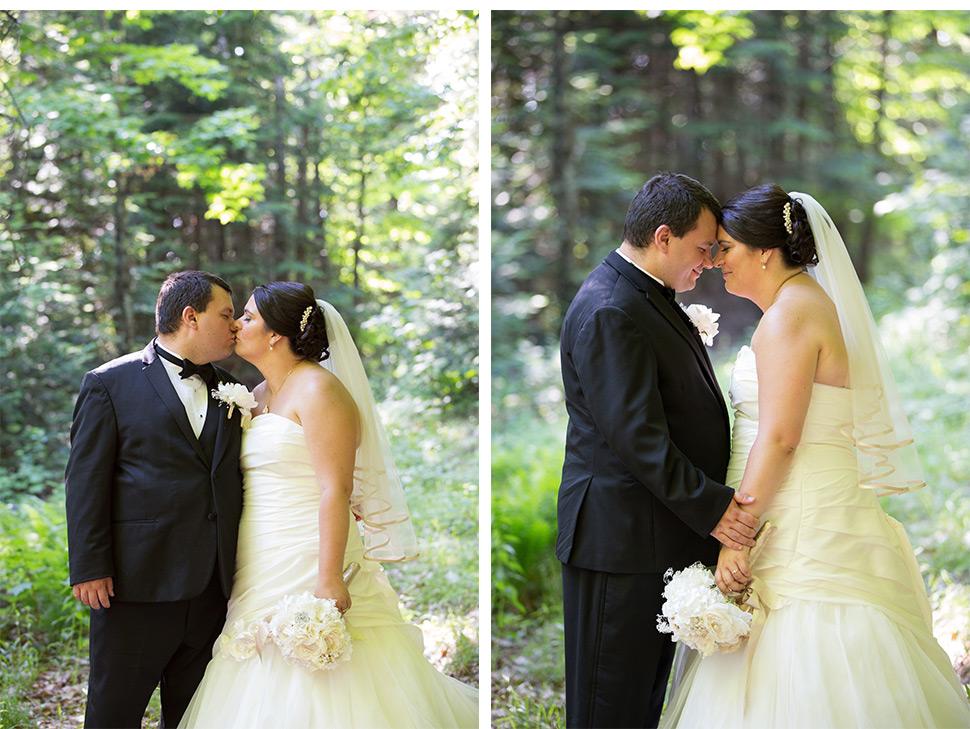 Mariage rustique.