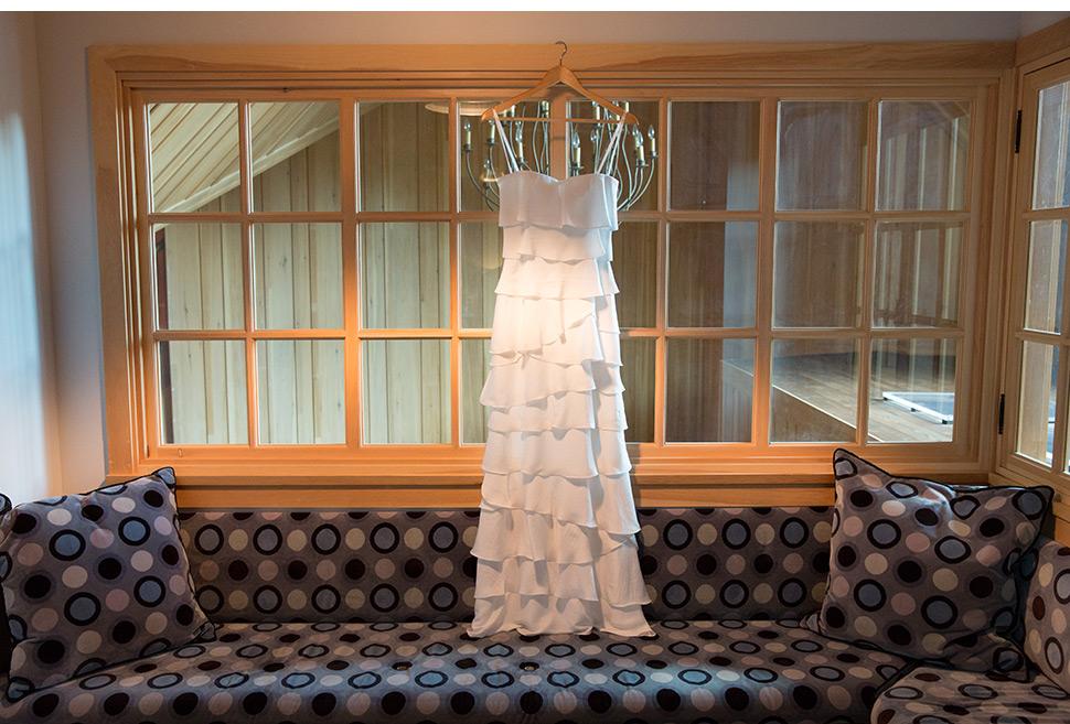 Robe de la mariée.