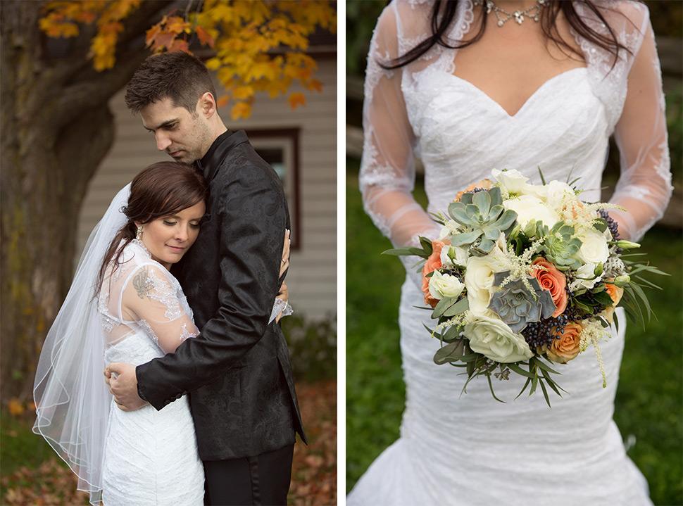 Mariage d'automne.