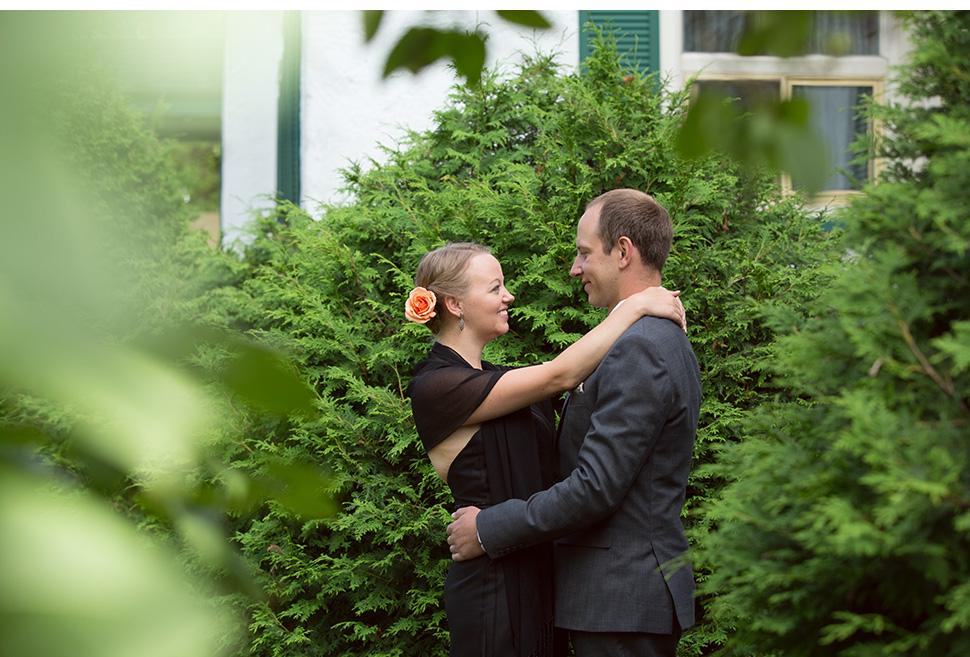 Mariage rustique en campagne.