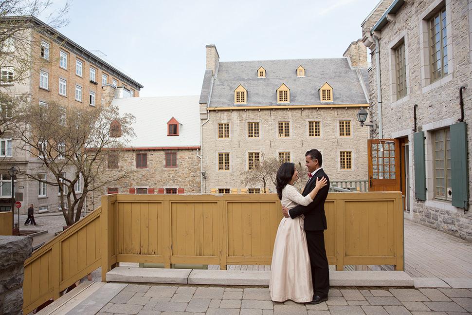 Honeymoon photographer in Quebec City.