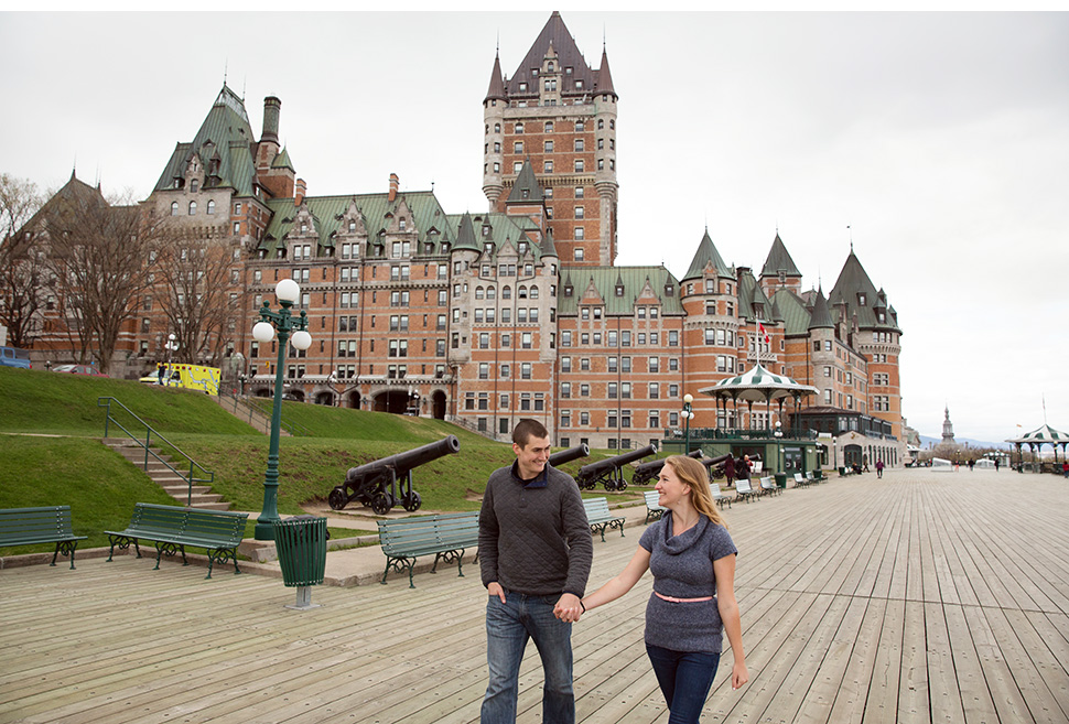 Best proposal location in Quebec City.