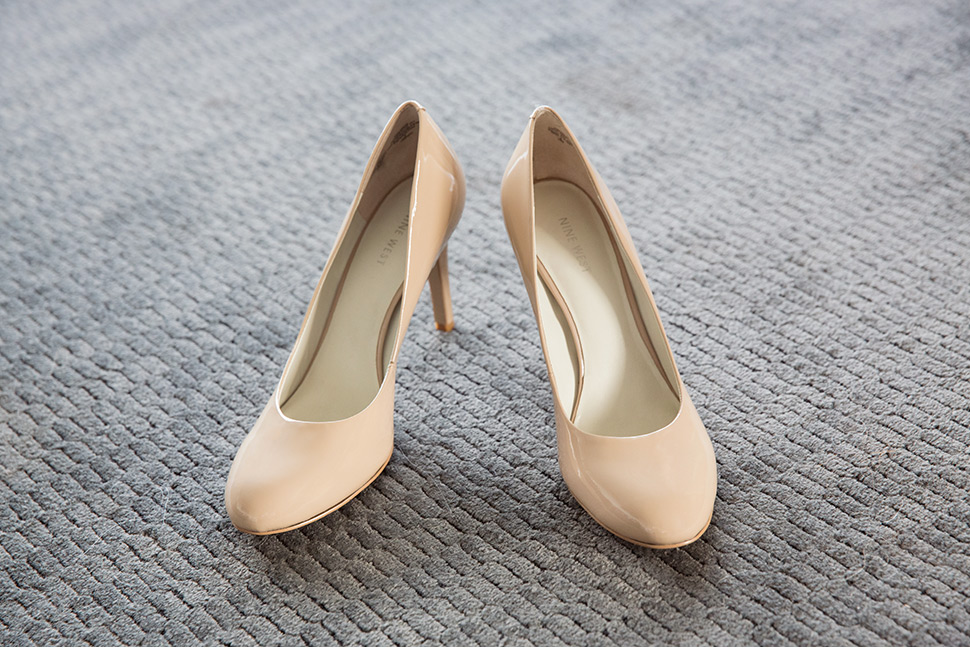Souliers de la mariée.
