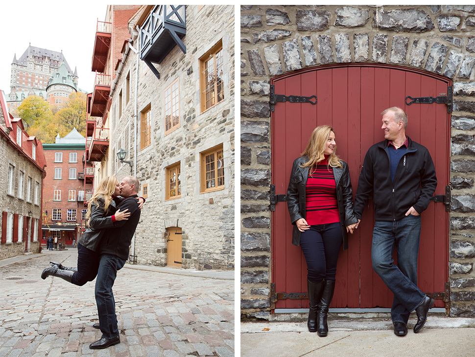 Photo session in Old Quebec.