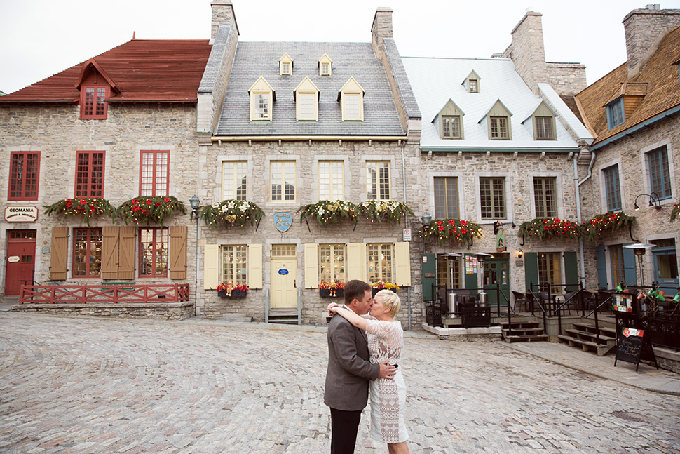 Elopement in Old Quebec.