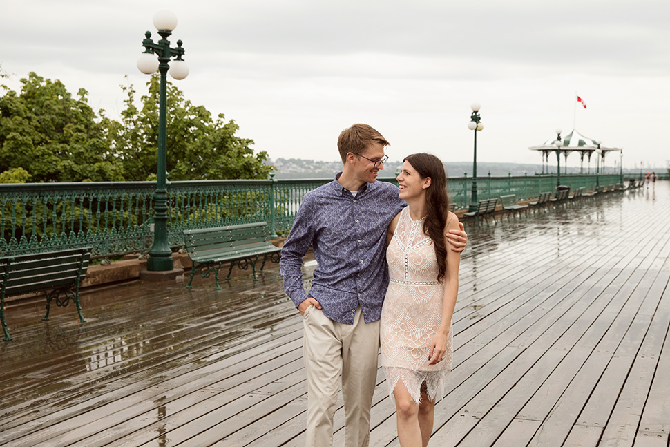 Romantic engagement session.